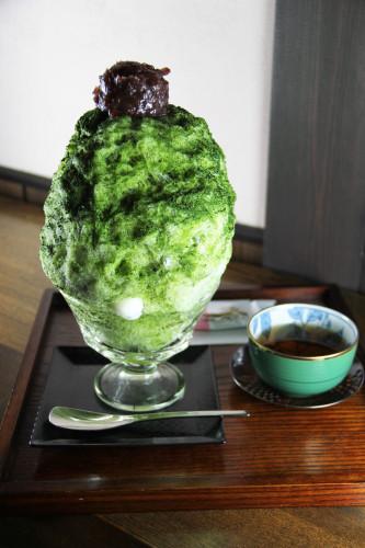 和カフェ 茶房陣 かき氷始めました