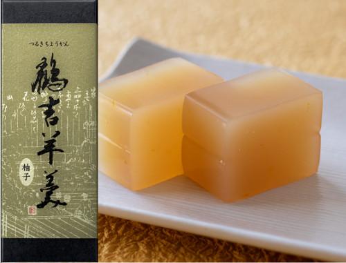 鶴吉羊羹(柚子)