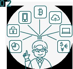 最新の法分野やITツールに精通、FinTech・個人情報関連の実績多数