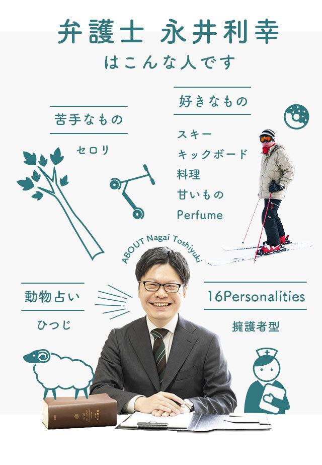 弁護士 永井利幸はこんな人です