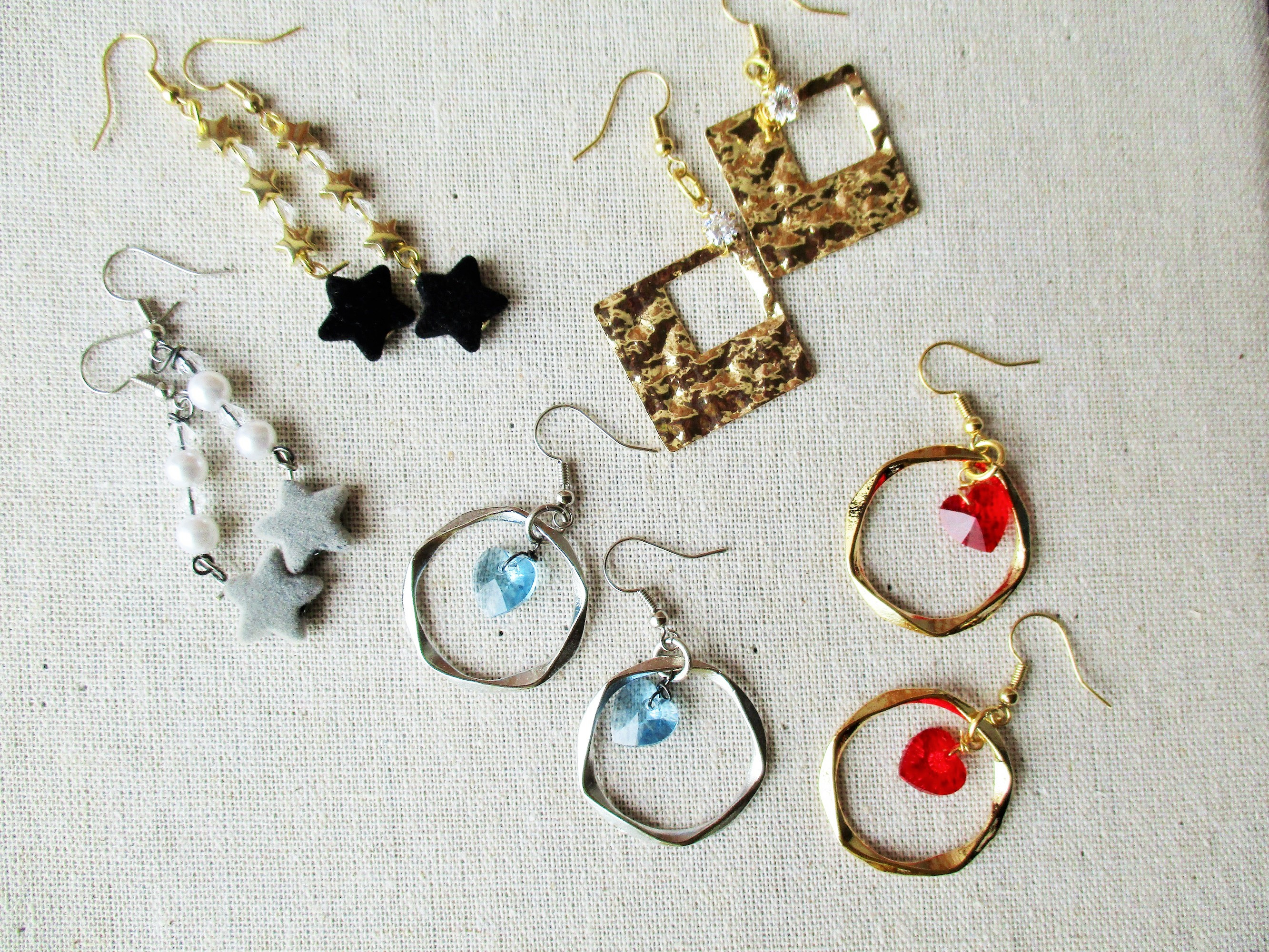 5 pairs of earrings.JPG