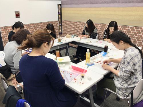 ハンドメイドアクセサリー教室 パーツ製作 ポリマークレイ