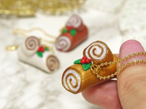 ポリマークレイ 体験 ワークショップ 銀座 ミニチュア クリスマスケーキ