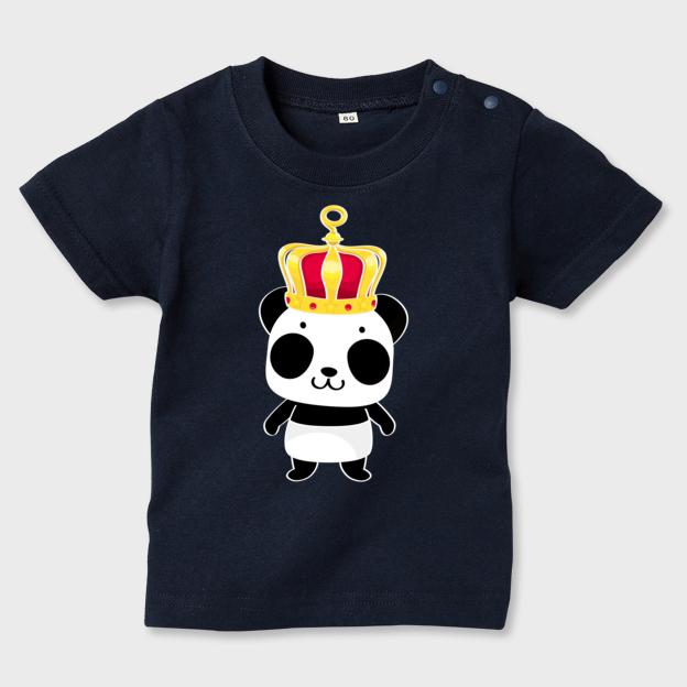 キッズTシャツ 誰の王冠?