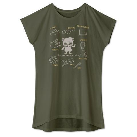Tシャツ ワンピース クマ キャラ