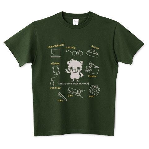 夏Tシャツ クマ キャラ