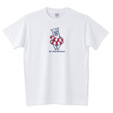 夏Tシャツ アルパカ キャラ