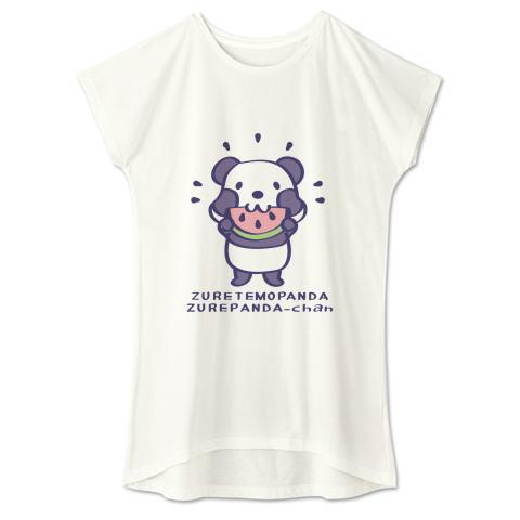 Tシャツ ワンピース スイカ柄 パンダ