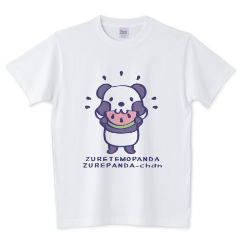 夏Tシャツ スイカ柄 パンダ