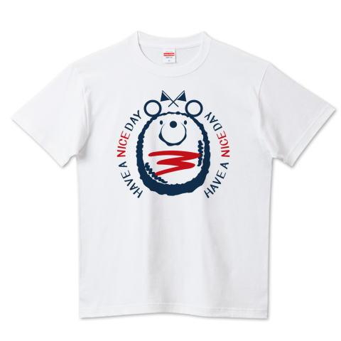 夏Tシャツ スイカ柄 ミニハンバーグ くま