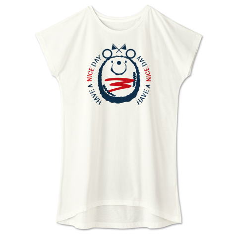 Tシャツ ワンピース ミニハンバーグ くま
