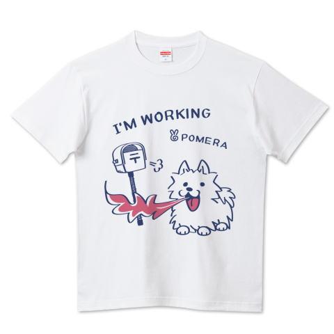 夏Tシャツ 犬 ポメラニアン ポメ POMERA ポメラ