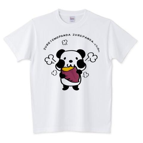 夏Tシャツ 秋Tシャツ 秋イラスト 焼き芋 パンダ ズレぱんだ