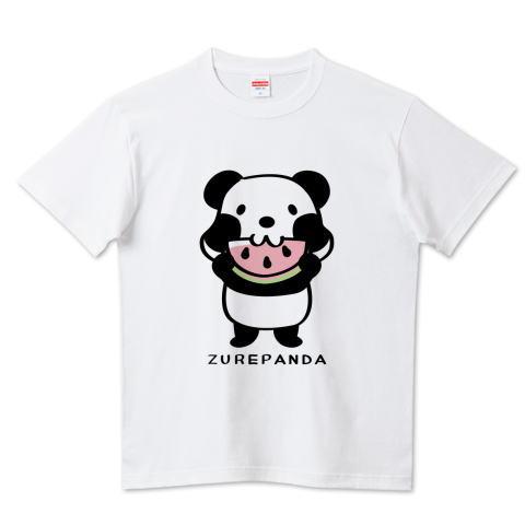 カスタマイズ Tシャツ 半袖 長袖 夏 スイカ パンダ ズレぱんだ
