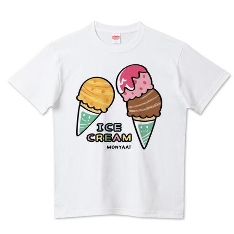 カスタマイズ Tシャツ アイスクリーム ICECREAM パンダ ズレぱんだ