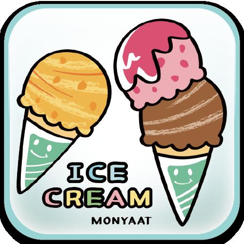 ズレぱんだちゃん ぱんだ アイス アイスクリーム イラスト Tシャツ
