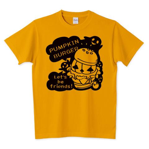 ハロウィン Tシャツ 半袖 Tシャツトリニティ ハンバーガー バーガー かぼちゃバーガー オバケ