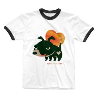 リンガーTシャツ Tシャツ SUZURI リンク