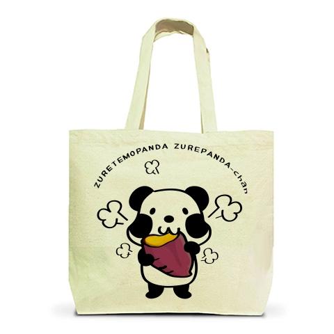 上野松坂屋 あにまるアート&グッズフェスタ パンダ 焼き芋 トートバッグ エコバッグ