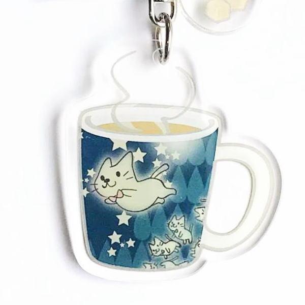 キーホルダー ネコのキーホルダー 猫 キャラクター
