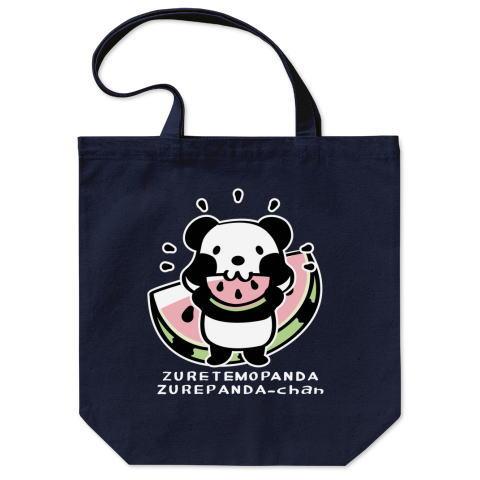 パンダ スイカ かわいい トートバッグ マイバッグ エコバッグ Tシャツトリニティ リンク