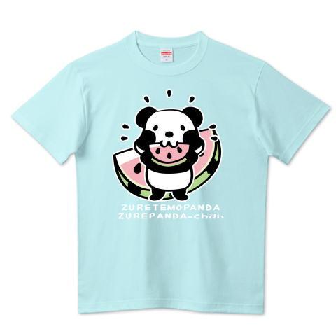 パンダ スイカ  かわいい Tシャツ 半袖 Tシャツトリニティ リンク