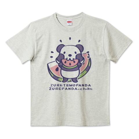 パンダ スイカ かわいい ズレぱんだちゃん Tシャツ 半袖 Tシャツトリニティ リンク