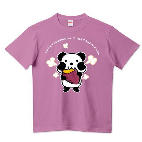 パンダ 焼き芋 お芋 ズレぱんだちゃん  かわいい Tシャツ 半袖 Tシャツトリニティ リンク