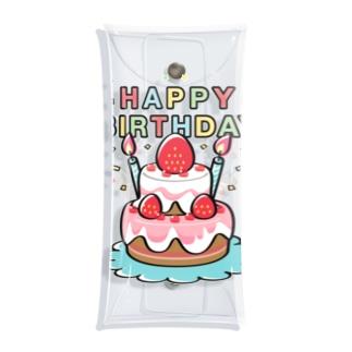 クリアケース HAPPY BRTHDAY 誕生日 お祝い suzuri リンク