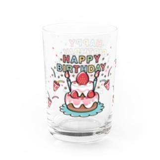 グラス コップ キャラクター オリジナル お誕生日 HAPPYBRTHDAY お祝いグラス