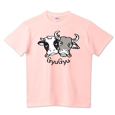 CT86 水牛 丑 牛 濃厚 接触 密 干支 Tシャツ 半袖 Tシャツトリニティ リンク