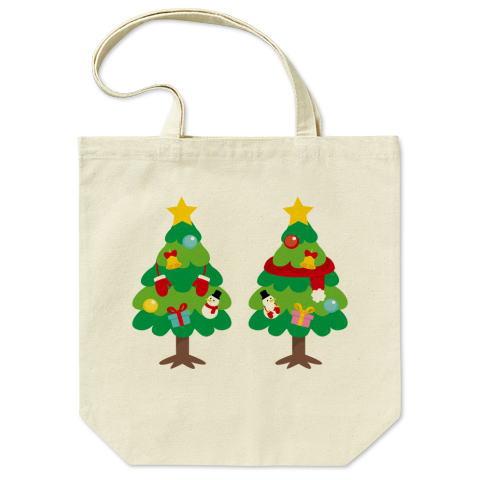 CT88 漢字 林 林さん 名前 日本 文字 木 クリスマス クリスマスツリー イラス トートバッグ マイバッグ エコバッグ Tシャツトリニティ リンク
