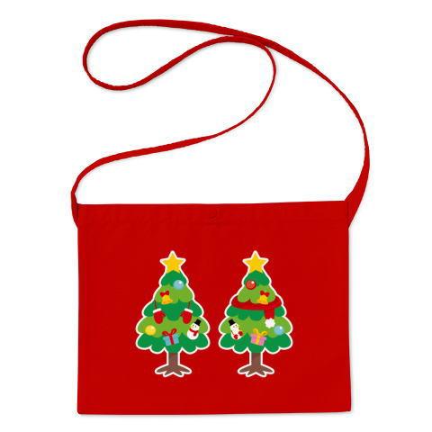 CT88 漢字 林 林さん 名前 日本 文字 木 クリスマス クリスマスツリー イラスト トートバッグ マイバッグ エコバッグ サコッシュ Tシャツトリニティ リンク