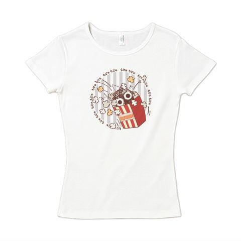 CT92 謎 もじゃ インベーダー ベーダー 宇宙人 隕石 紐 毛糸 擬態 イラスト Tシャツ 半袖 レディース Tシャツトリニティ リンク