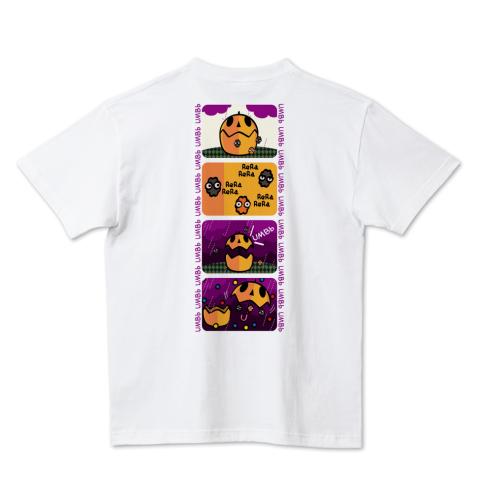 CT96 4コマ アンブー ポップ 傘 アンブレラ アンブー おばけ 妖怪 コンペイトウ マンガ イラスト Tシャツ 半袖 Tシャツトリニティ リンク