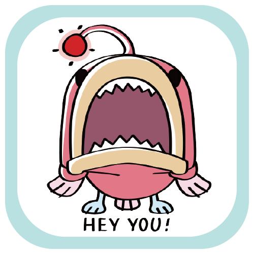 CT32 あんこ姫 海 海の生き物 海底 あんこう 魚 姫 SUZURI リンク