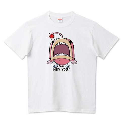 CT32A 海の底のあんこ姫 hey you 海の生き物 まだまだいける キャラクター キャラ オリジナル オリキャラ イラスト Tシャツ 半袖 Tシャツトリニティ リンク