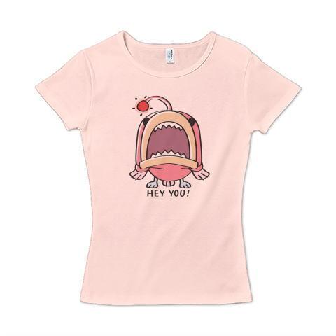 CT32A 海の底のあんこ姫 hey you 海の生き物 まだまだいける キャラクター キャラ オリジナル オリキャラ イラスト Tシャツ 半袖 レディース Tシャツトリニティ リンク
