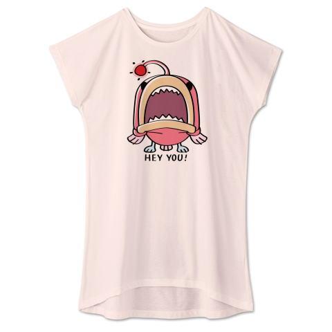CT32A 海の底のあんこ姫 hey you 海の生き物 まだまだいける キャラクター キャラ オリジナル オリキャラ イラスト Tシャツ 半袖 ワンピース 重ね着 Tシャツトリニティ リンク