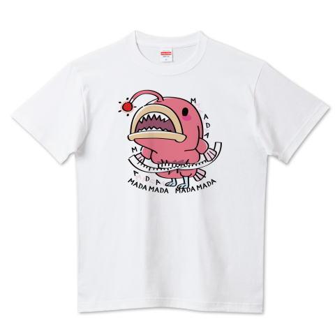 CT114 海の底のあんこ姫 海の生き物 まだまだいける キャラクター キャラ オリジナル オリキャラ イラスト Tシャツ 半袖 Tシャツトリニティ リンク