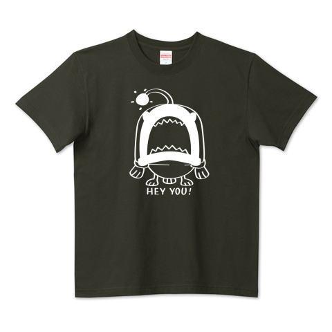 CT32B 海の底のあんこ姫 hey you 海の生き物 まだまだいける キャラクター キャラ オリジナル オリキャラ イラスト Tシャツ 半袖 Tシャツトリニティ リンク