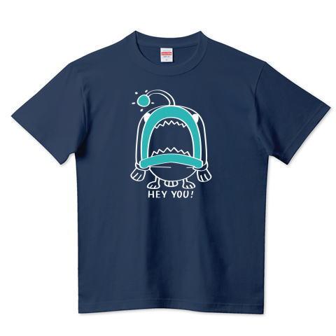 CT32C 海の底のあんこ姫 hey you 海の生き物 まだまだいける キャラクター キャラ オリジナル オリキャラ イラスト Tシャツ 半袖 Tシャツトリニティ リンク