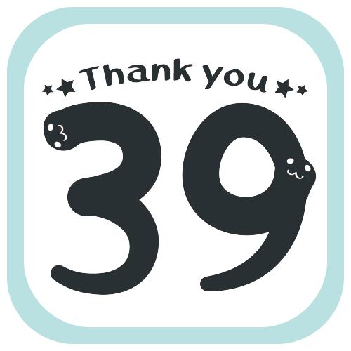 CT18 39 Thank you  ありがとう 感謝 サンキュー SUZURI リンク