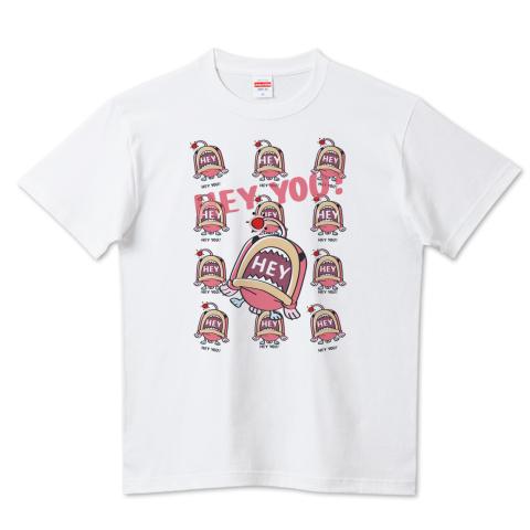 CT116 海の底のあんこ姫*HEY YOU*ミニ  海の生き物 まだまだいける キャラクター キャラ オリジナル オリキャラ イラスト Tシャツ 半袖 Tシャツトリニティ リンク