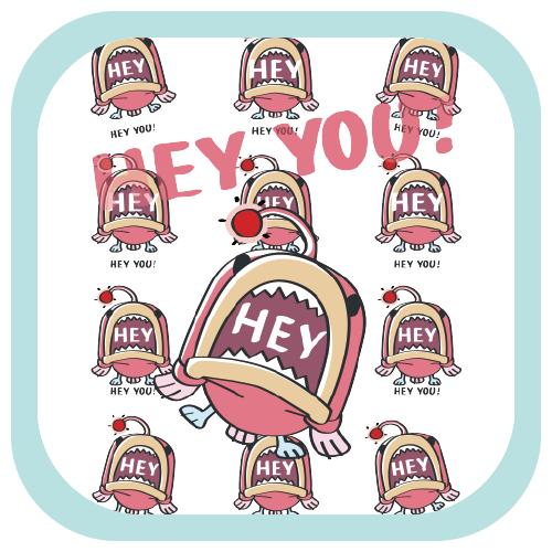 CT116 海の底のあんこ姫*HEY YOU*ミニ  あんこう 魚 海の生き物 姫 ピンク キャラ オリジナル イラスト Tシャツ トリニティ リンク