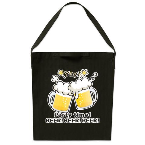 CT125 BEER!BEER!BEER!*ブレンド ビール 生ビール アルコール ジョッキ イラスト トートバッグ マイバッグ エコバッグ サコッシュ ショルダーバッグ Tシャツトリニティ リンク