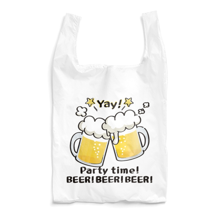CT125A BEER beer ビール 生ビール アルコール エコバッグー SUZURI リンク