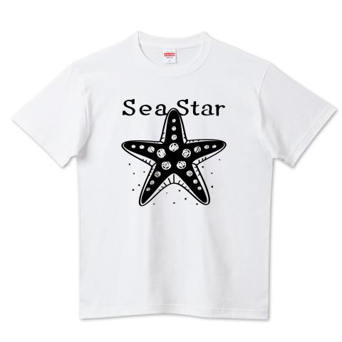 CT138 ひとでなし  ひとでなし ヒトデ 星 海の星 海の生き物 スター ユーモア ギャグ ネタ Tシャツ 半袖 Tシャツトリニティ リンク