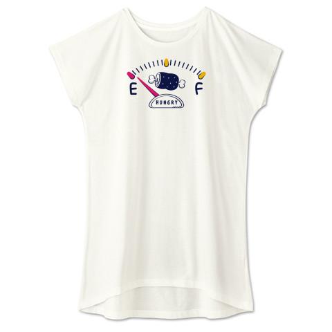 CT141 腹ペコゲージA 腹ペコ ハングリー お肉食べたい おごって ユーモア ネタ ネタ Tシャツ 半袖 ワンピース 重ね着  Tシャツトリニティ リンク