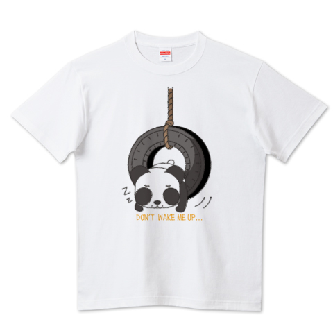 CT148 おこさないでねB*ズレぱんだちゃんのDON'T WAKE ME UP... Tシャツ 半袖 Tシャツトリニティ リンク